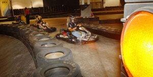 Kart track fulfills owner's dream