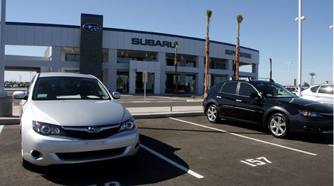 Chandler Subaru dealership