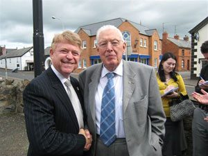 Gilbert mayor touched by Irish support for US