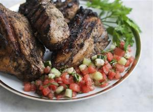 Food Healthy Jerk Chicken