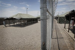 Immigration Tent City