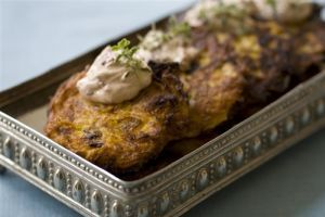 Food Thanksgiving Hanukkah Pumpkin Latkes