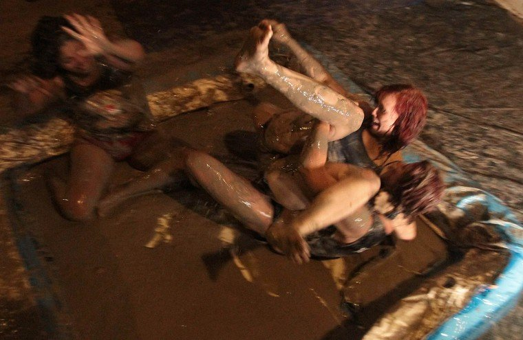Pirate Mud Wrestling