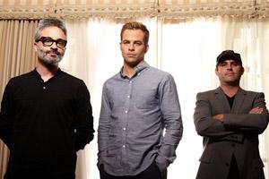 Alex Kurtzman, Chris Pine, Roberto Orci