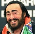 Pavarotti to accept music prize in Italy