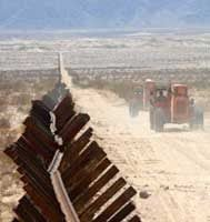 Conservative activist group asks: Where's the fence?