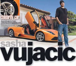 Celebrity Car: Sasha Vujacic