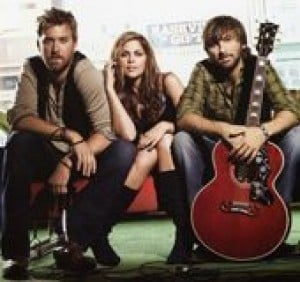 Lady Antebellum mixes voices for harmony