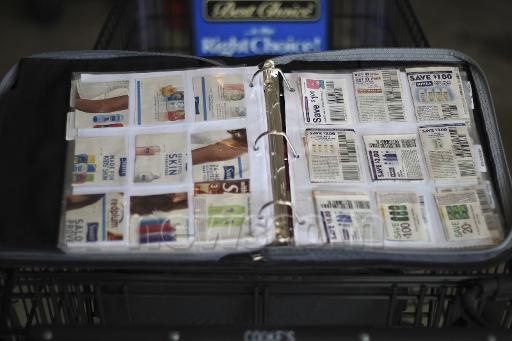 Organizing coupons