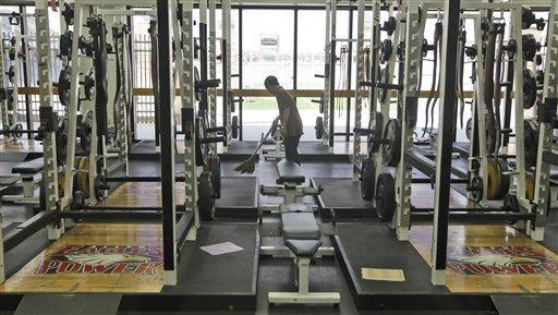 Allen High School Weight Room