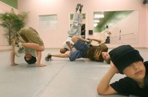 Break dancing spins back into mainstream
