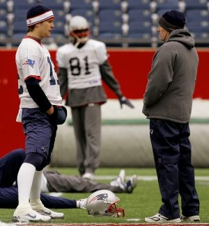 Brady is Most Invisible Player at Patriots' drills