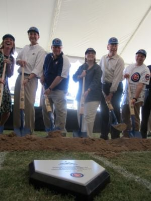 Cubs Groundbreaking