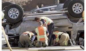 21 hurt in Gilbert four-vehicle crash