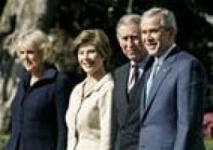 Charles, Camilla hit D.C. for Bush visit