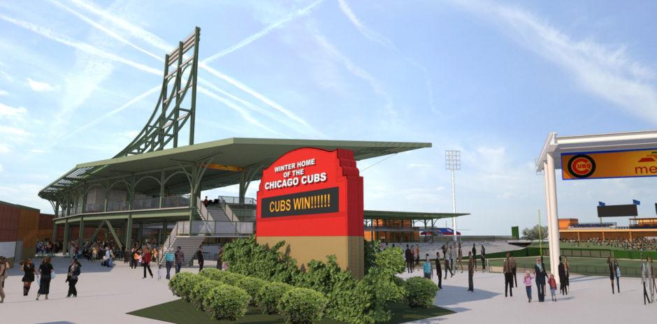 Chicago Cubs New Mesa Stadium