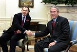 Blair, Bush see hope for Palestinian state