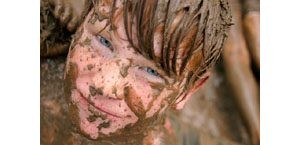 Kids enjoy Mighty Mud Mania