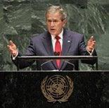 Bush appeals to Muslims in U.N. speech