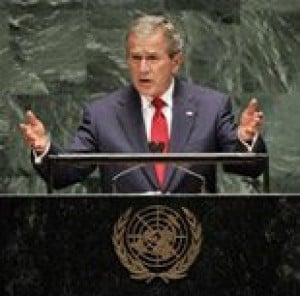 Bush appeals to Muslims in U.N. speech 