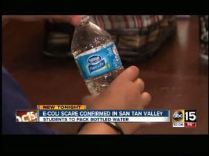E.coli scare in San Tan Valley