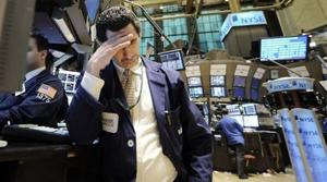 Stock market indexes fall to 1997 levels