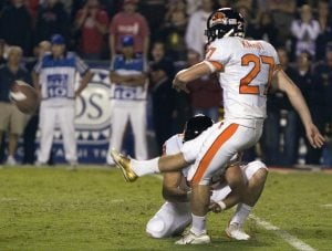 Beavers kick Cats on final play