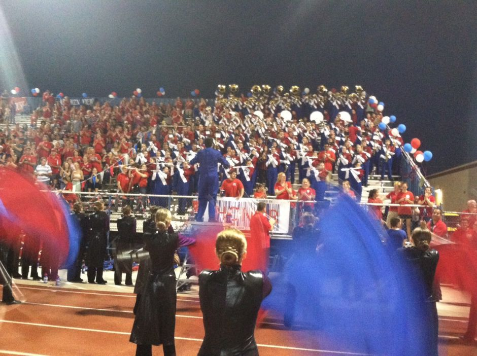 Mountain View High School band