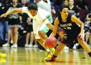 St. Mary's vs. Hamilton girls basketball