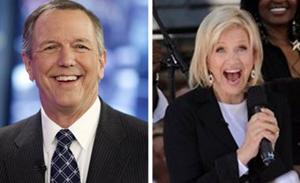 ABC's Gibson retiring, replaced with Sawyer
