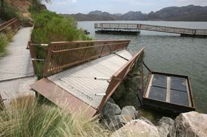 Weather rocks ramps, docks at Saguaro Lake
