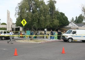 Mother kills herself at Mesa library