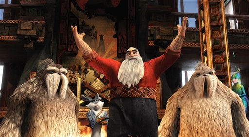 Film Review Rise of the Guardians