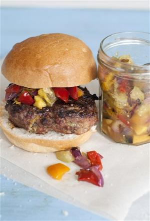 Food Meatloaf Burgers