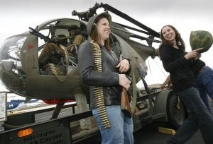 Helicopter Day showcases military aircraft