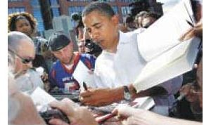 Obama visits Valley to rally Democrats