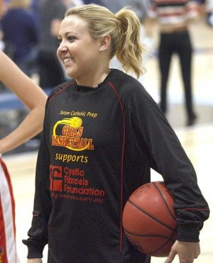 Taking to the air: Seton hoops coach battles Cystic fibrosis