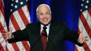 McCain all but clinches; Romney departs
