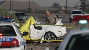 Bank heist pursuit ends in two deaths