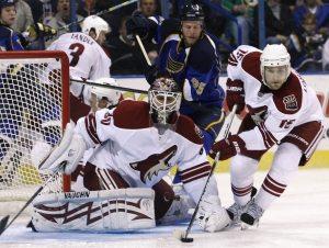 Bryzgalov, Coyotes shut out Blues