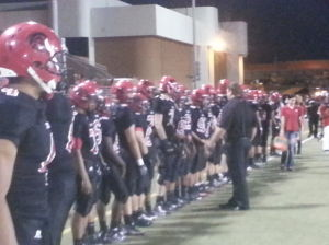 Horizon vs. Paradise Valley football