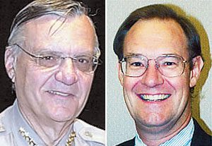 Arpaio tiff leads Goddard to drop civil gambling case