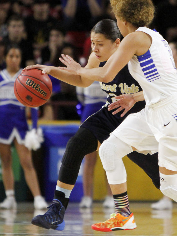 Dobson vs Desert Vista Girls Basketball