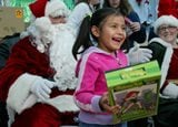 Santa Claus comes to Guadalupe