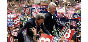 Recovering Clinton campaigns for Kerry