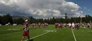 SLIDESHOW: Arizona Cardinals training camp in Flagstaff