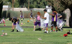 Mesa High Football Community Service