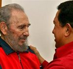 Cuba TV shows Castro meeting with Chavez