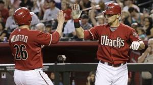 D'Backs chase Cain and beat Giants