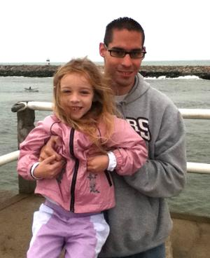 Michael Sanchez and his daughter Emily Machado